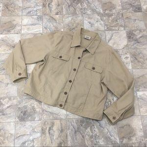 BILL BLASS Khaki Jacket